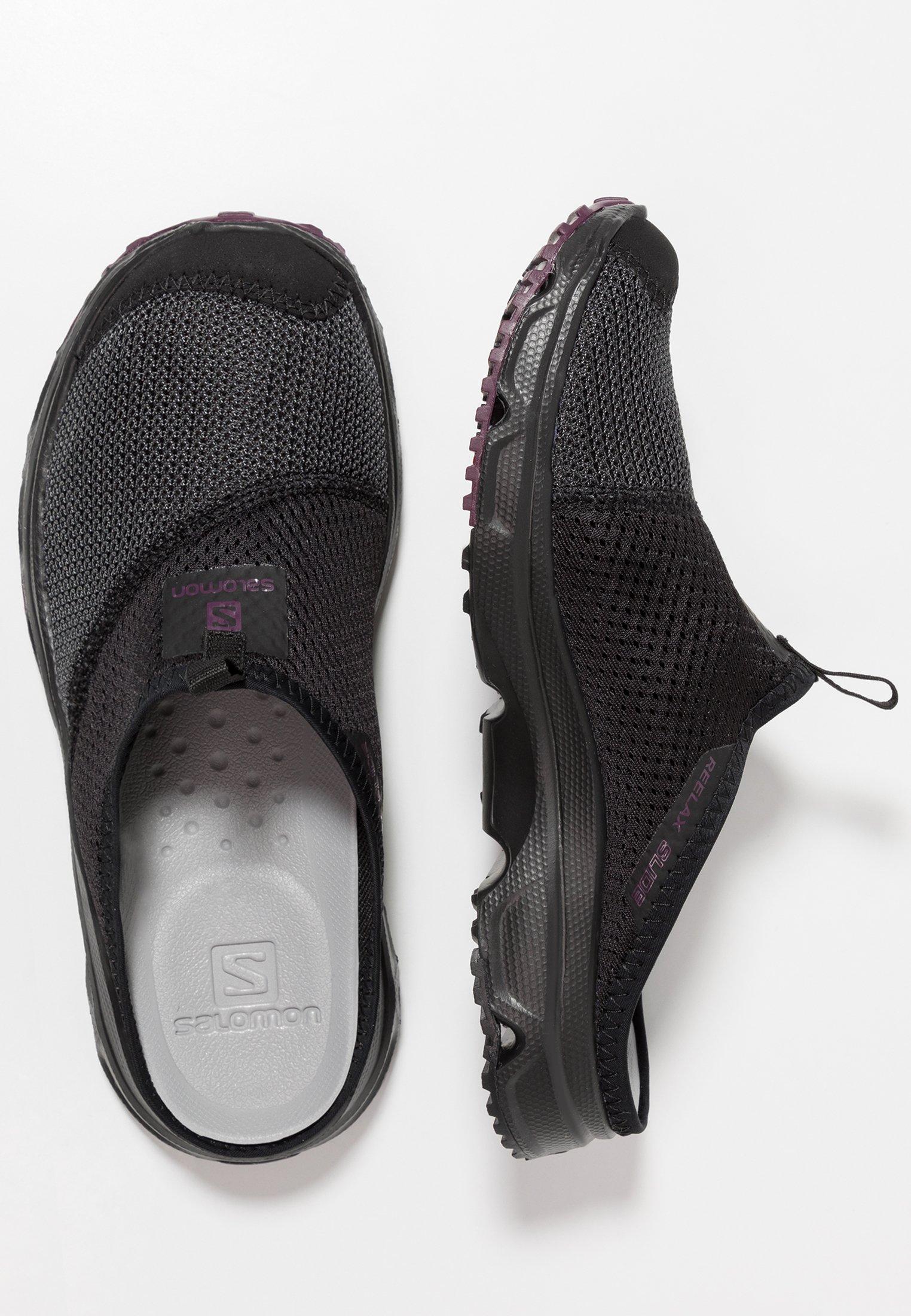 salomon rx slide 4.0 black pink