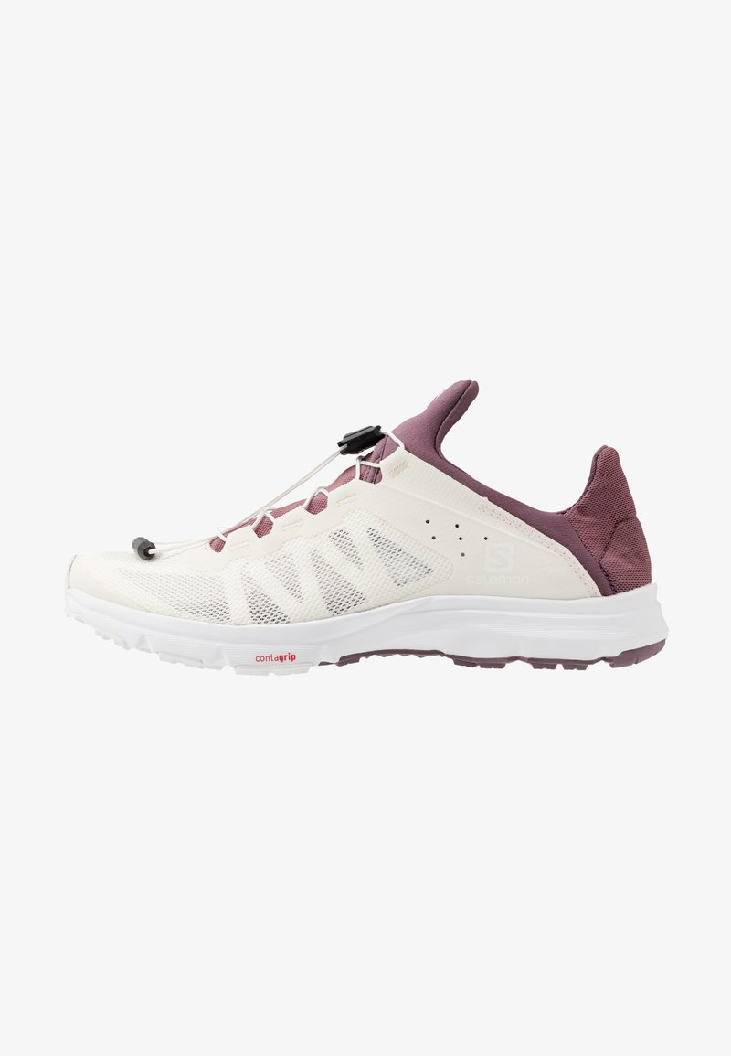 Salomon - AMPHIB BOLD - Neutral running shoes - vanilla ice/winetasting/white