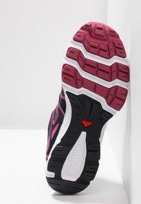 Salomon - CROSSAMPHIBIAN SWIFT 2 - Hiking shoes - navy blazer/malaga/ebony - 4