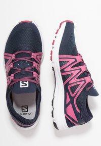 Salomon - CROSSAMPHIBIAN SWIFT 2 - Hiking shoes - navy blazer/malaga/ebony - 1
