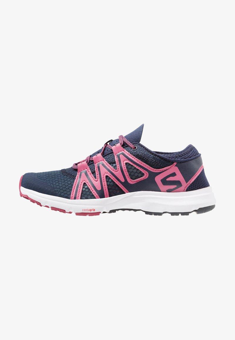 Salomon - CROSSAMPHIBIAN SWIFT 2 - Hiking shoes - navy blazer/malaga/ebony