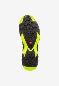 Salomon - Trail running shoes - deep lake/black/lime green - 4