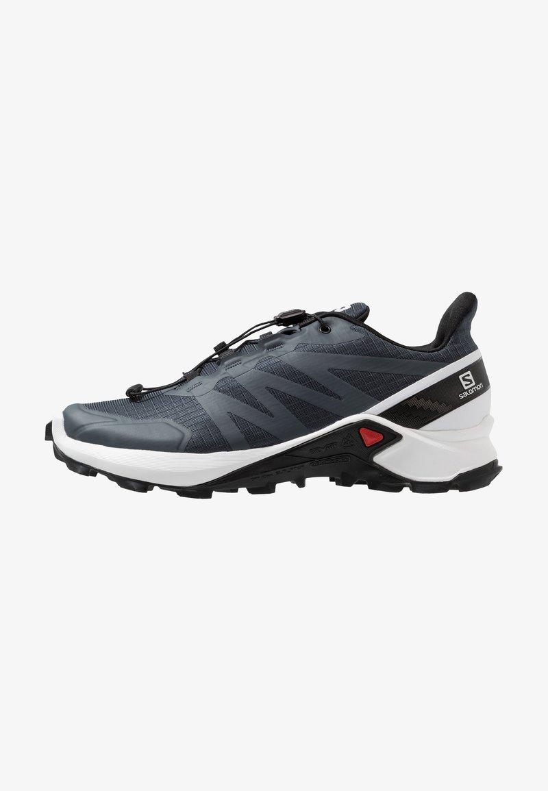 Salomon - SUPERCROSS - Běžecké boty do terénu - india ink/white/black