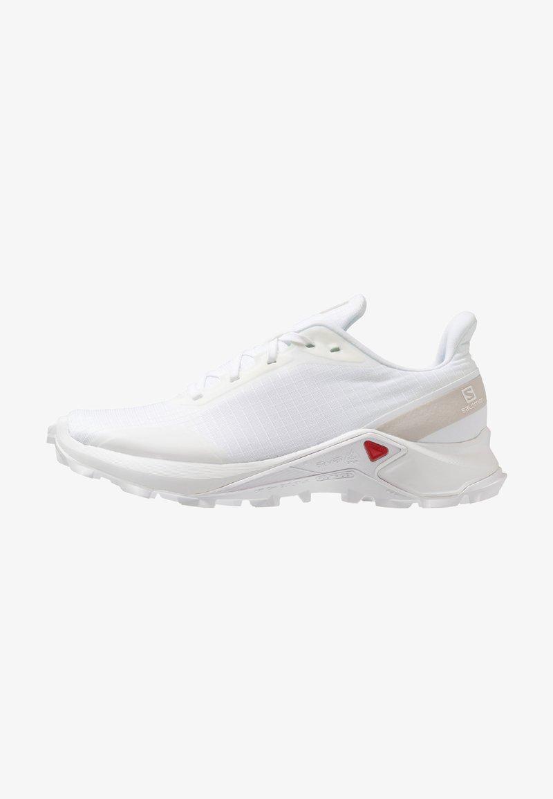 Salomon - ALPHACROSS - Trail running shoes - white