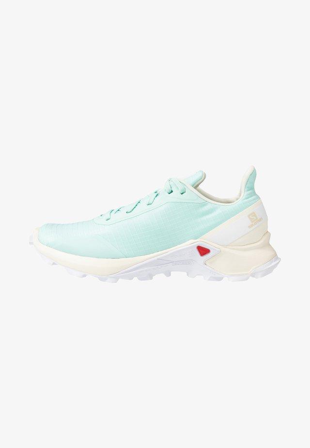 ALPHACROSS - Běžecké boty do terénu - icy morn/vanilla ice/white