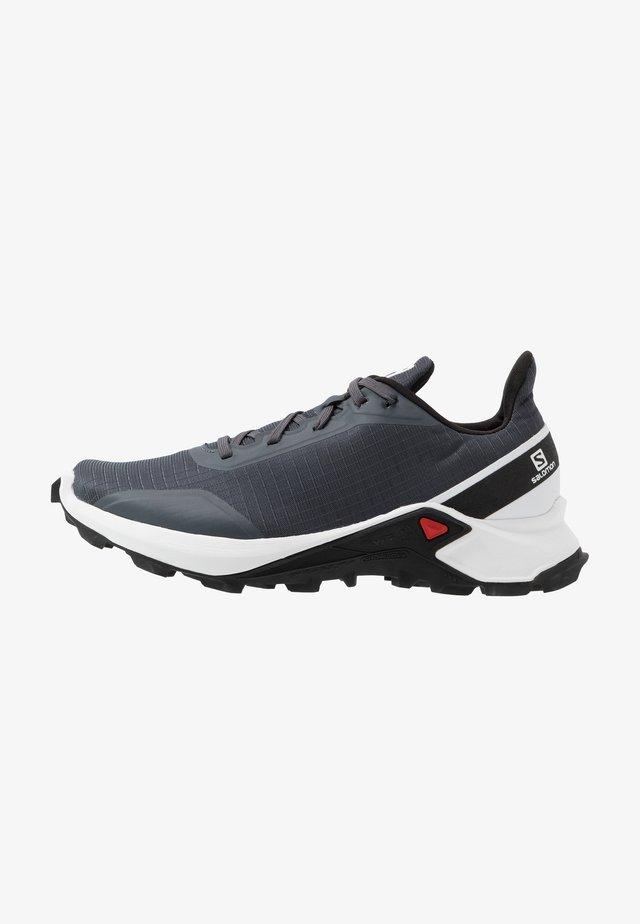 ALPHACROSS - Běžecké boty do terénu - india ink/white/black