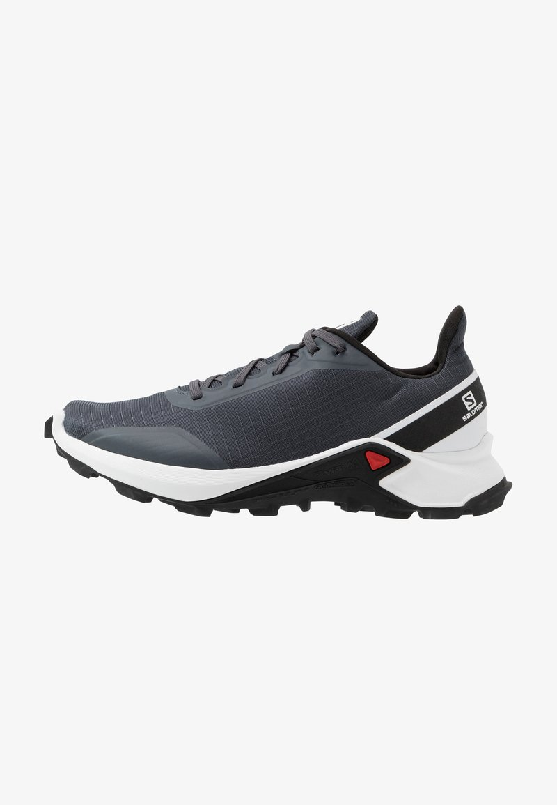 Salomon - ALPHACROSS - Zapatillas de trail running - india ink/white/black