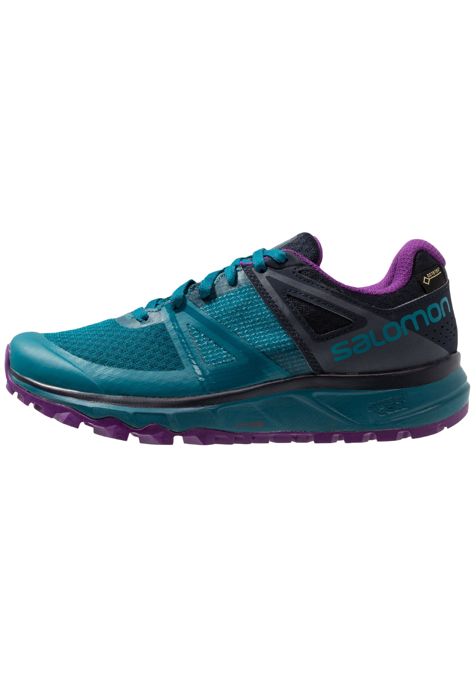 TRAILSTER GTX Löparskor terräng deep lagoonnavy blazerpurple magic