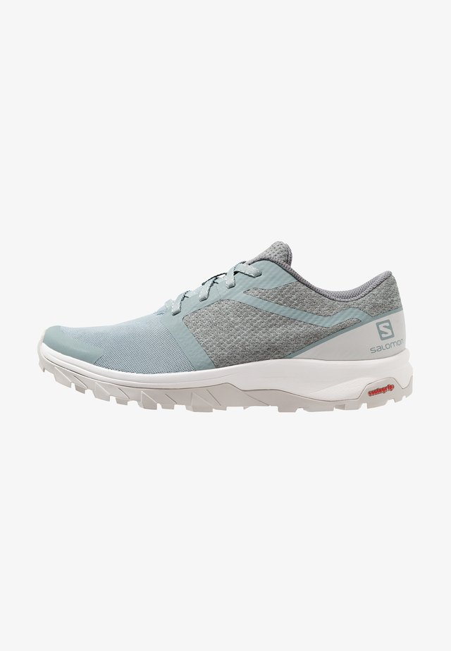 OUTBOUND - Hiking shoes - lead/lunar rock/white