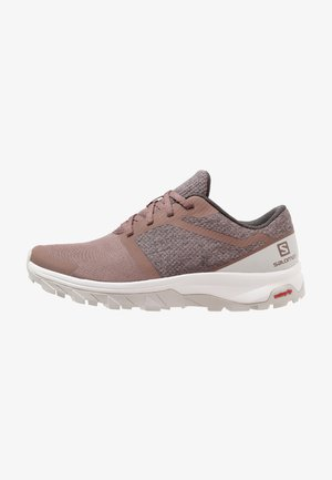 OUTBOUND - Hiking shoes - peppercorn/lunar rock/white