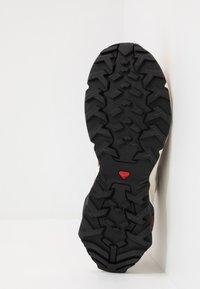 Salomon - X RAISE - Hiking shoes - cedar wood/lunar rock/cantaloupe - 4
