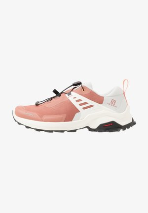 X RAISE - Hiking shoes - cedar wood/lunar rock/cantaloupe