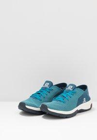 Salomon - TECH LITE - Walking trainers - icy morn/poseidon/navy blazer - 2