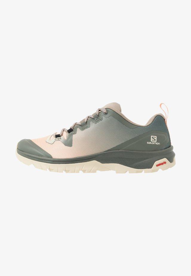VAYA - Obuwie hikingowe - vintage kaki/bellini/castor gray
