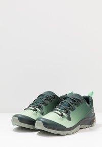 Salomon - VAYA - Hiking shoes - green gables/spruce stone/shadow - 2