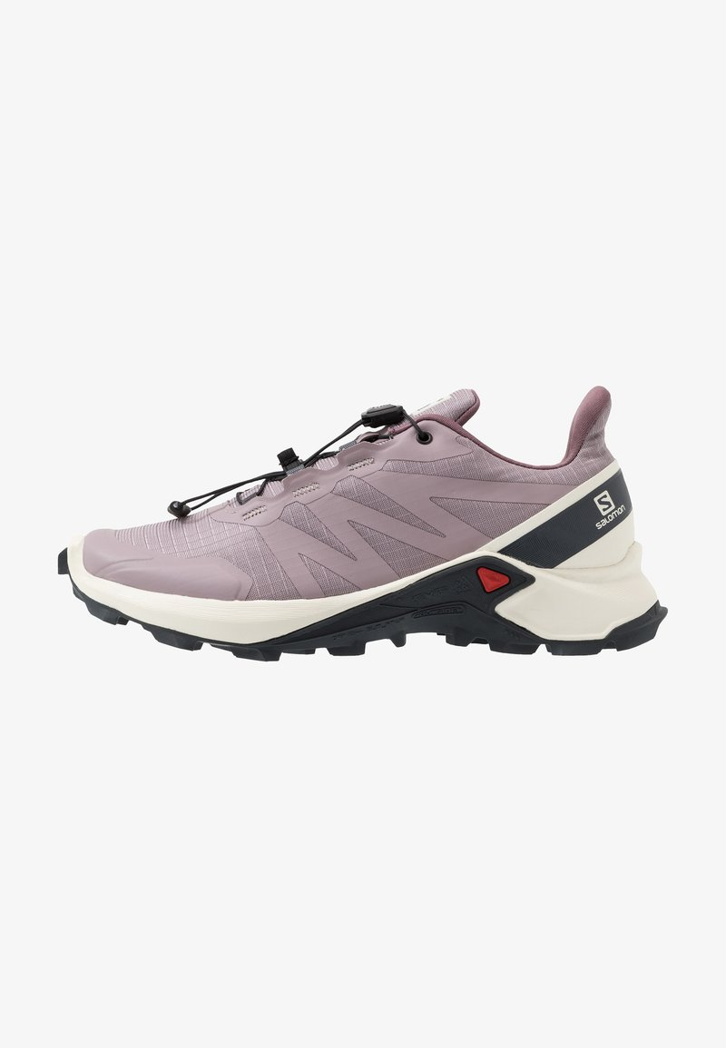 Salomon - SUPERCROSS - Zapatillas de trail running - quail/vanilla ice/india ink