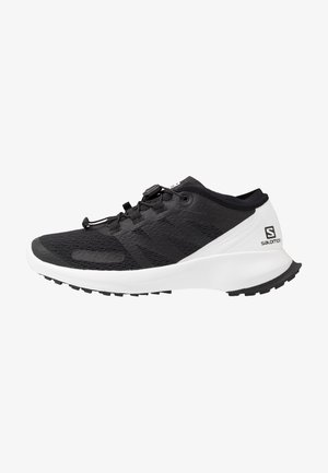 SENSE FLOW  - Trail running shoes - black/white