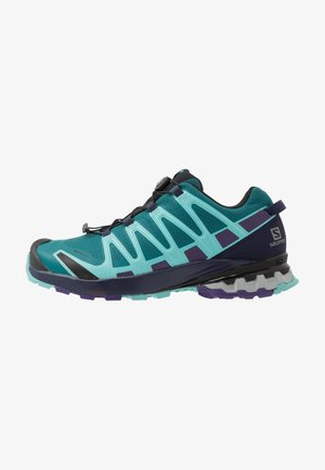 XA PRO 3D V8 GTX - Trail hardloopschoenen - shaded spruce/evening b/meadowbrook
