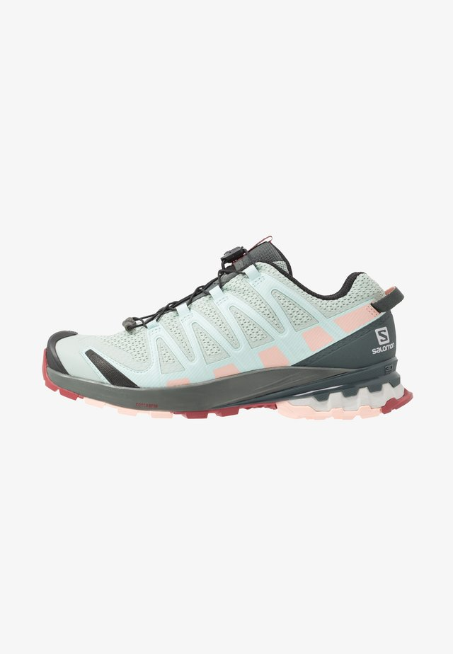 XA PRO 3D - Laufschuh Trail - aqua gray/urban chic/tropical peach