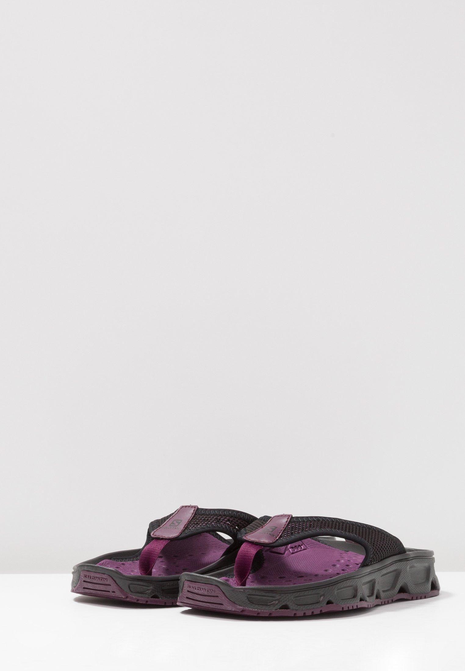 De black Potent 4 Break Purple Rx 0Sandales Randonnée Salomon kiuTwZOPX