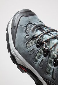 Salomon - QUEST 4D GTX - Hiking shoes - lead/stormy weather/bird of paradise