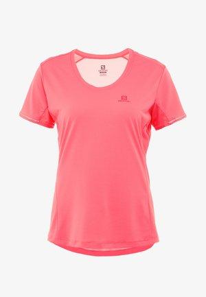AGILE TEE - Sports shirt - calypso coral