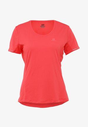 AGILE TEE - Koszulka sportowa - hibiscus