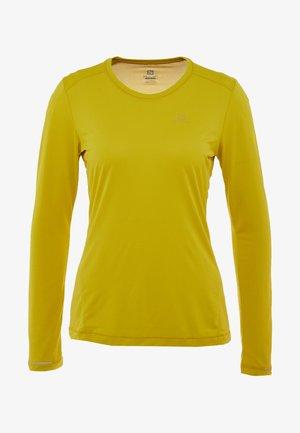 AGILE TEE - Camiseta de deporte - antique moss