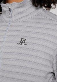 Salomon - LIGHTNING MID - T-shirt de sport - lunar rock - 5