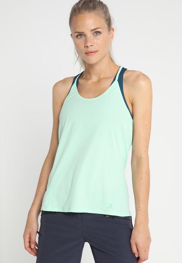 COMET FLOW TANK - Sports shirt - yucca