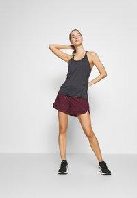 Salomon - COMET FLOW TANK - Sports shirt - black/ebony/heather - 1
