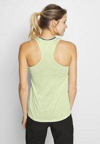 Salomon - AGILE TANK - Sports shirt - seacrest/white/heather - 2