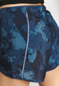Salomon - AGILE SHORT - Urheilushortsit - dark denim - 4