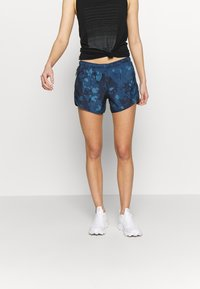 Salomon - AGILE SHORT - Urheilushortsit - dark denim - 0