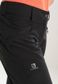Salomon - WAYFARER  PANT  - Bukse - black - 4