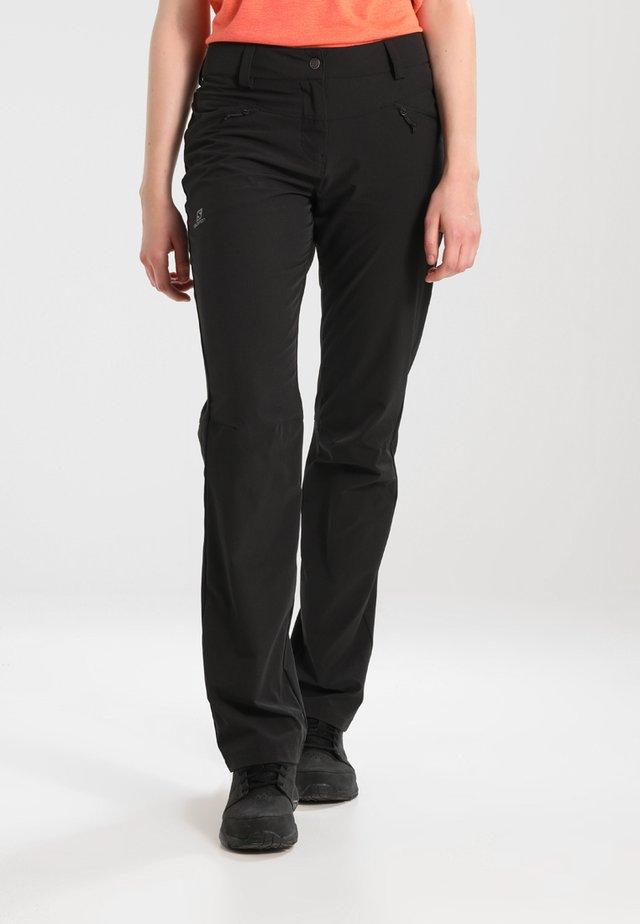WAYFARER  PANT  - Kalhoty - black