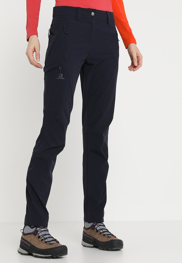 WAYFARER TAPERED PANT - Friluftsbyxor - night sky