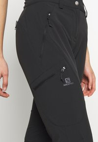 Salomon - WAYFARER TAPERED PANT - Outdoor trousers - black - 5