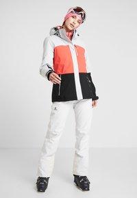 Salomon - ICEFANCY PANT - Ski- & snowboardbukser - lunar rock - 1