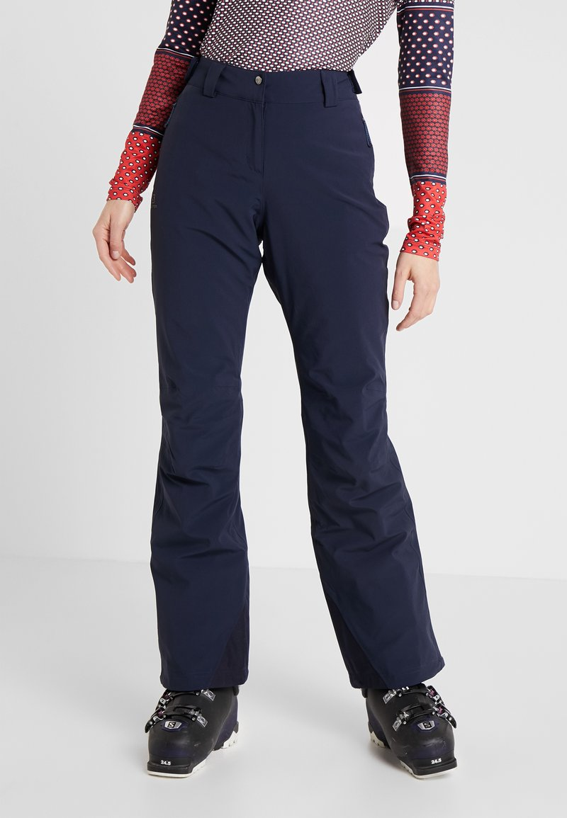 Salomon - ICEMANIA PANT - Snow pants - night sky
