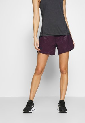 SHORT - Sports shorts - winetasting/black