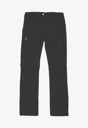 WAYFARER STRAIGHT WARM - Trousers - black
