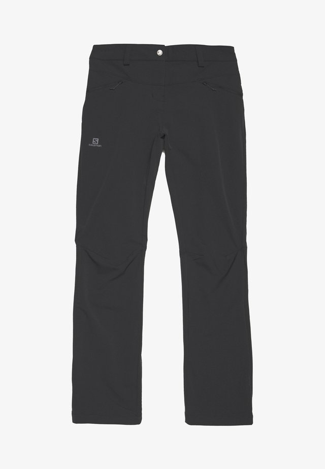 WAYFARER STRAIGHT WARM - Trousers - black