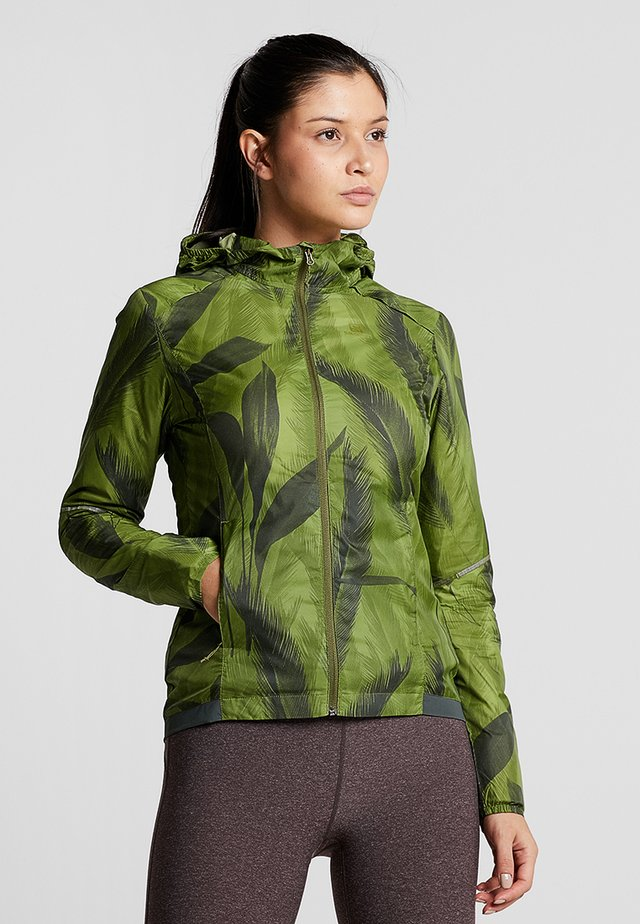 AGILE WIND PRINT - Sports jacket - avocado