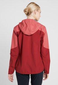Salomon - OUTLINE  - Hardshell jacket - rio red/garnet rose - 2