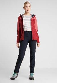 Salomon - OUTLINE  - Hardshell jacket - rio red/garnet rose - 1