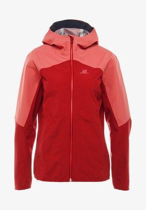 OUTLINE  - Hardshell jacket - rio red/garnet rose