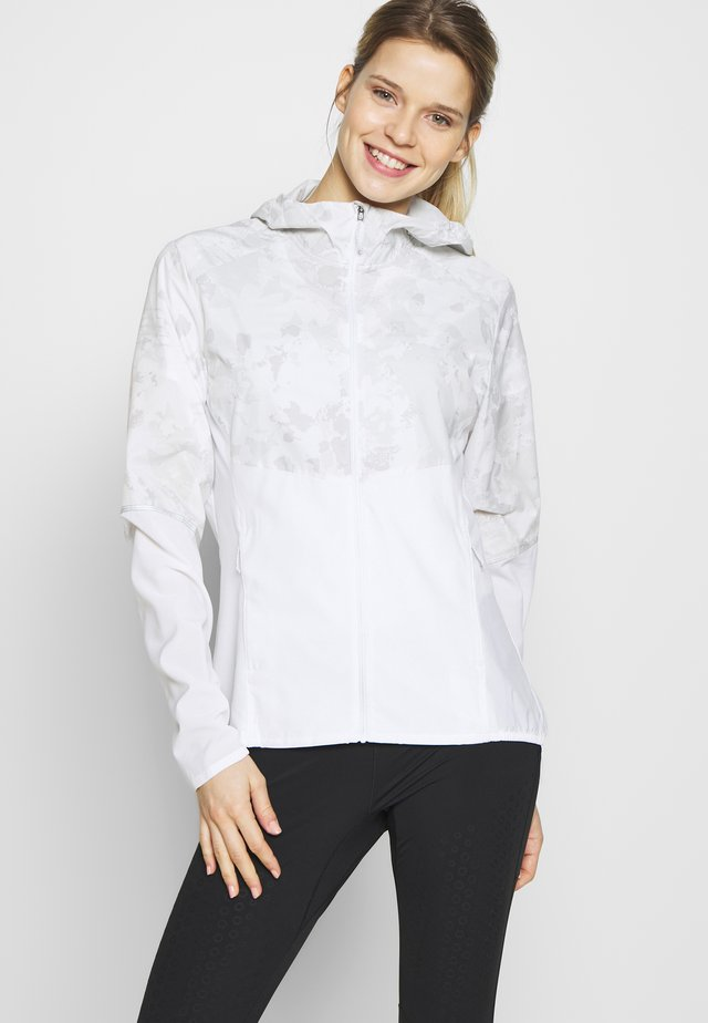 AGILE HOODIE - Training jacket - white
