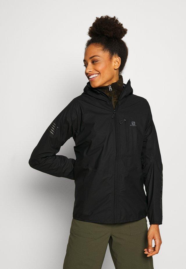 OUTSPEED 360 - Hardshell jacket - black