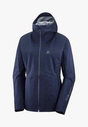 """SALOMON DAMEN JACKE """"OUTLINE 360 3L JKT W"""" - Waterproof jacket - marine (300)"""